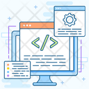 Source Page Source Code Html Icon