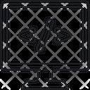 Mcustom Coding Icon
