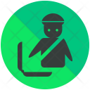 Custom Officer Luggage Icon