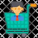 Marketing Manager Cart Icon
