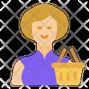 Customer Woman Avatar Icon