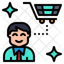 Customer Shopper Consumer Icon