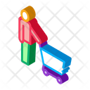 Cart Customer Retail Icon