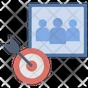 Customer Target Analysis Icon