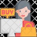 Customer Buy Store Icon