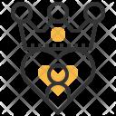 Customer Loyalty King Icon
