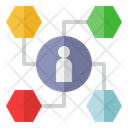 Customer Analysis Marketing Crm Icon
