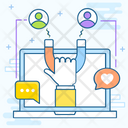 Customer Attraction Customer Retention Customer Churn Icon