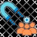 Attraction Inbound Magnet Icon