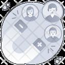 Customer Attraction Icon