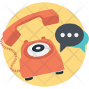 Support Chat Phone Icon