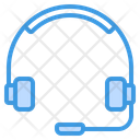 Headphone Customer Care Customer Support Icon