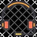 Headphone Customer Care Customer Support Icon