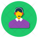 Online Support Call Center Online Service Icon