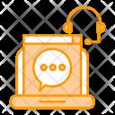Speech Communication Chat Icon