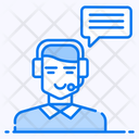 Customer Care Telemarketing Technical Support Icon