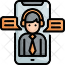 Support Mobile Customer Icon