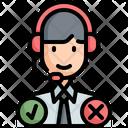Call Center Agent Icon