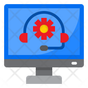 Computer Service Help Icon