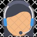 Customer Car Call Center Help Center Icon