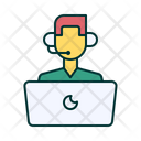Customer Support Icon Pack Which Includes Customer Care 24 X 7 Service Tech Support Etc Icons Icon