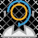 Customer Care Service Icon