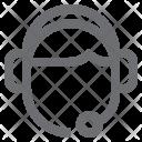 Customer Care Representative Icon