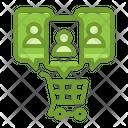 Customer Cart Icon