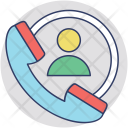Customer Center Helpline Icon