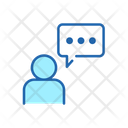 Customer Chat Conversation Message Icon