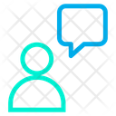 Chat Customer Help Icon