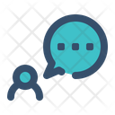 Comment Ask User Icon