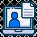 Customer Data Icon
