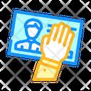 Customer Data Theft Icon