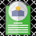 Customer Detail Form Sheet Icon