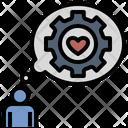 Customer Expectation Service Loyalty Icon