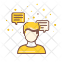 Feedback Customer Conversation Icon