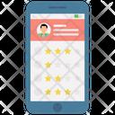 Rating Social App Customer Feedback Icon