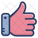 Thumbs Up Appreciation Customer Rating Icon