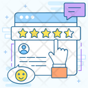 Website Feedback Customer Feedback Social Like Icon