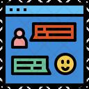 Web Customer Service Help Icon