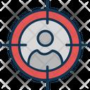 Customer Focus Customer Segmentation Focus Group Icon