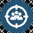 Customer Focus Customer Segmentation Marketing Management Icon
