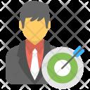 Customer Focus Target Icon