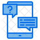 Phone Customer Service Help Icon