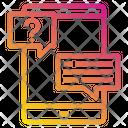 Phone Customer Service Help Icon