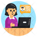 Customer Services Chat Support Customer Help Icon