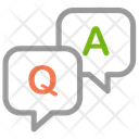 Quation Answer Customer Help Icon
