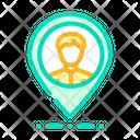 Customer Location Icon