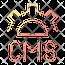 Customer Management System Icon